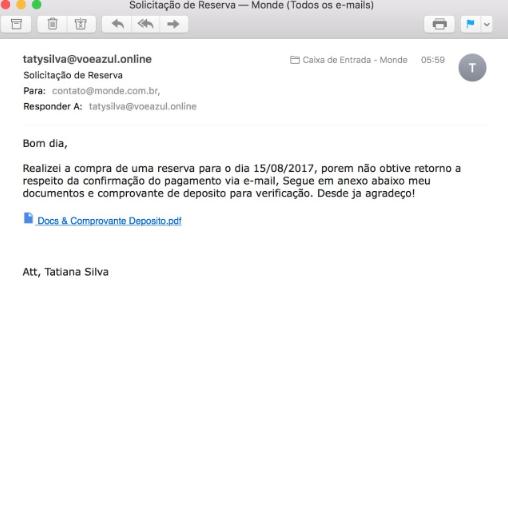 golpes em agências de viagens com e-mail falso